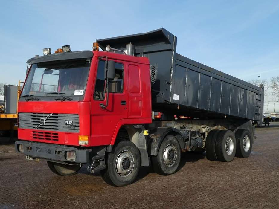 Volvo FL 12.380 8x4 full steel 18m3 - 1996