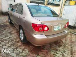 Toyota corolla 2007 model Clean and lovely ride. You will love it