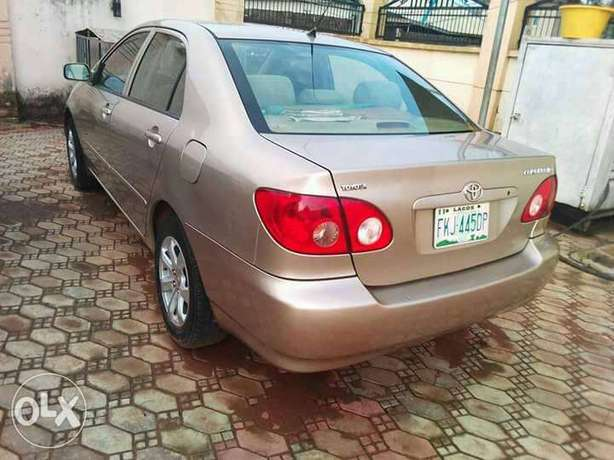Toyota corolla 2007 model Clean and lovely ride. You will love it Agege - image 1