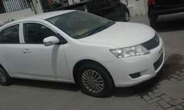 Pearl white 1800 cc allion kcj