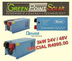 3Kw Devel Pure Sine Inverter 24v SPECIAL