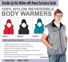 Body Warmers!!! On Special!!!