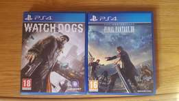 FF15 and Watchdogs