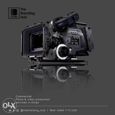 Commercial Video Production and Products photography