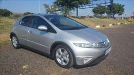 Honda Civic 1.8 Exi 6 Speed. Excellent condition with many extras