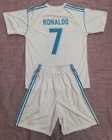 2e58fbf93ca81b Komplet, replika strój piłkarski Madrid - RONALDO - 152