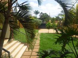 A four bedroom standalone house for rent in Ntinda