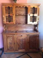 cash only - Solid oak cabinet