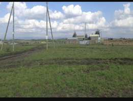 Plot for sale measures 50 by 100 with title deed. Katani syokimau