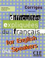 Difficultes Expliquees du francais for English Speakers