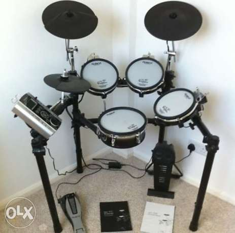 Roland TD9-SX full set drum kit in very good condition درامز رولاند