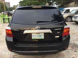Toyota Highlander first body 09 thumb start very clean like toks