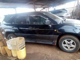 A Clean Toyota Harrier in a Pristine Condition