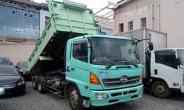 Hino Tipper, 7900cc, double diff, 4wd lock, kch, 2009, diesel manual