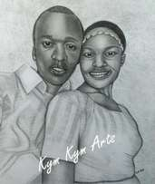 Get a high quality art work of you A3 size 4000 kshs