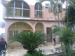 A Storey building of two 4 broom flats for sale at eyita, Ikorodu