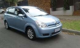 2006 toyota corolla verso 1.6 for sale