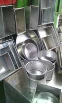 New baking Tins and ovens