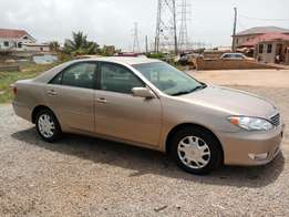Unregistered 2006/2007 fully loaded Toyota Camry