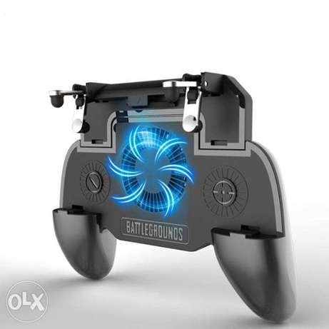 Mobile Gamepad With Cooling Fan