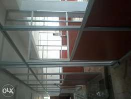 Aluminum partitioning and gypsum partitioning and ceilings