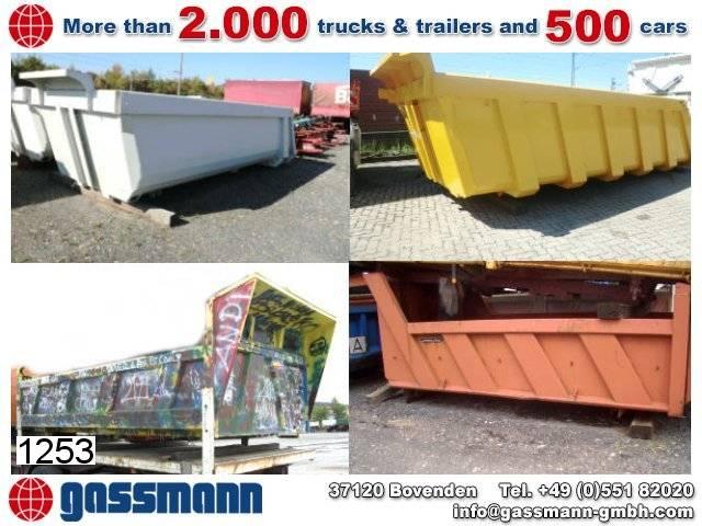 Schmitz Cargobull andere  stahlmulde, 30x vorhanden!