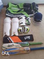 Complete Cricket Kit For Right Handers in Immaculate Condition