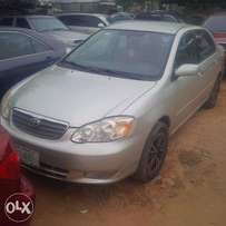 Locally Used (few month) Toyota Corolla, 2003/04. Very OK Buy & Drive.