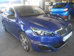 2016 Peugeot 308 1.2 GT line auto for only R193000.