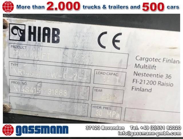 Volvo FL 250 4x2, Hiab XR 14 S 51 - 2015