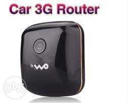 3G Car Router - Black