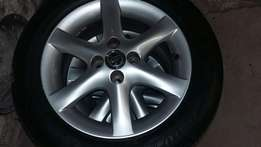 Toyota Run X Rims n tyres
