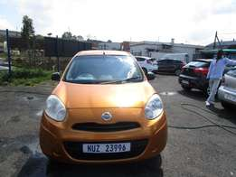 2013 Nissan Micra,gold in color,4 doors,72 000km ,excellent condition