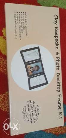 Clay Keepsake & Photo Desktop Frame Kit