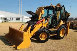 CAT 428F TLB for hire, rental or lease.