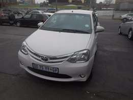 Toyota Etios 1.5 white in colour 2015 model 7000km R100000 manual