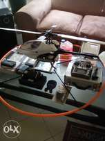 Raptor 30 class V.2 helicopter for sale complete with accessories.