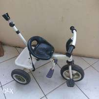 Tricycle available.