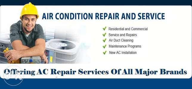 Repairing and servicing all type AC with cheap price