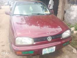 Registered Volkswagen Golf