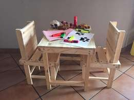Kiddies table and chairs