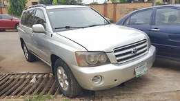 Toyota Highlander (2003) Registered