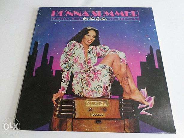 dona summer greatest hits on the radio 1 of 2 vinyls