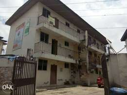 An office suite to let in Unilag Rd, Akoka