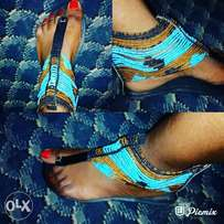Foreign African sandals