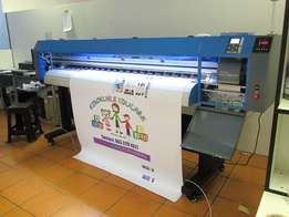 F-1867/ECO FastCOLOUR 1860mm EPSON® DX5 Printhead Large-Format ECO
