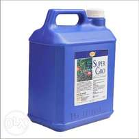 100 Gallons of Super Gro to Support Farmers