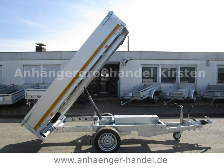 Eduard 2615 ALU 256x150x30cm Ladehöhe 72 cm 1,5 t - 2019