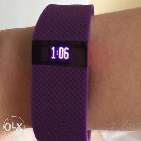 fitbit charge hr fitness watch for sale