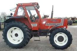 Fiat 1280 DT Tractor - 125 Hp